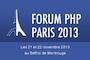 Forum PHP Paris 2013